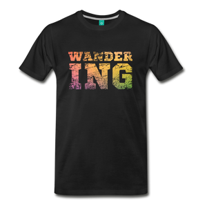 Men's Wandering T-Shirt - black