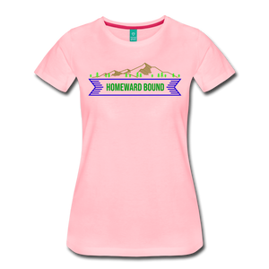 Women's Homeward Bound T-Shirt - pink