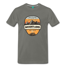 Load image into Gallery viewer, Men's Mountain's Calling T-Shirt - asphalt