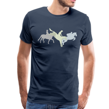 Load image into Gallery viewer, Men's Shadowed Eventing T-Shirt - navy