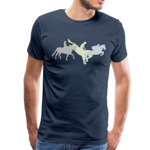 Men's Shadowed Eventing T-Shirt - navy