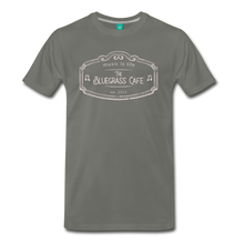 Load image into Gallery viewer, Men's The Bluegrass Cafe (music is life) T-Shirt - asphalt