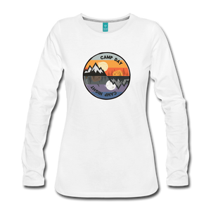 Women's Camp Day Long Sleeve Shirt - white