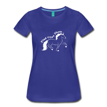 Load image into Gallery viewer, Women's Find Your Flow T-Shirt - royal blue