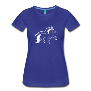 Women's Find Your Flow T-Shirt - royal blue