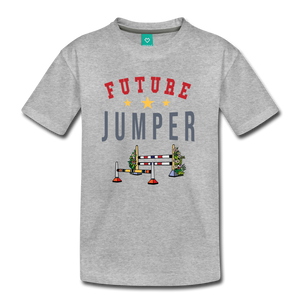 Kids' Future Jumper T-Shirt - heather gray