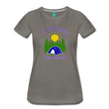Load image into Gallery viewer, Women's Campers Life T-Shirt - asphalt