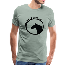 Load image into Gallery viewer, Men's Horse Power T-Shirt - steel green
