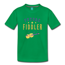 Load image into Gallery viewer, Toddler Future Fiddler T-Shirt - kelly green