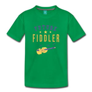 Toddler Future Fiddler T-Shirt - kelly green