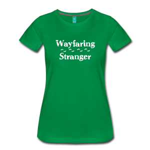 Women's Wayfaring Stranger T-Shirt - kelly green