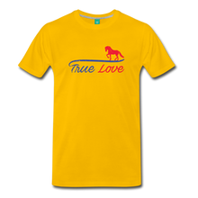 Load image into Gallery viewer, Men's True Love T-Shirt - sun yellow