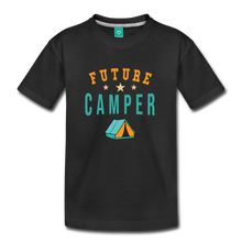 Load image into Gallery viewer, Toddler Future Camper T-Shirt - black