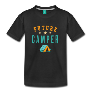 Toddler Future Camper T-Shirt - black