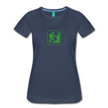 Load image into Gallery viewer, Women's Climb Icon T-Shirt - navy