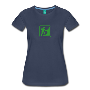 Women's Climb Icon T-Shirt - navy