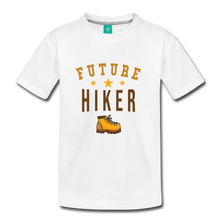 Load image into Gallery viewer, Kids' Future Hiker T-Shirt - white