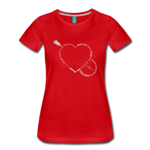 Load image into Gallery viewer, Women's Bnajo Heart T-Shirt - red