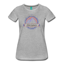 Load image into Gallery viewer, Women's Take me on an Adventure T-Shirt - heather gray
