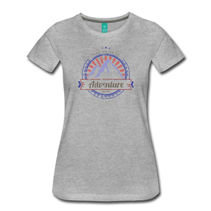 Women's Take me on an Adventure T-Shirt - heather gray