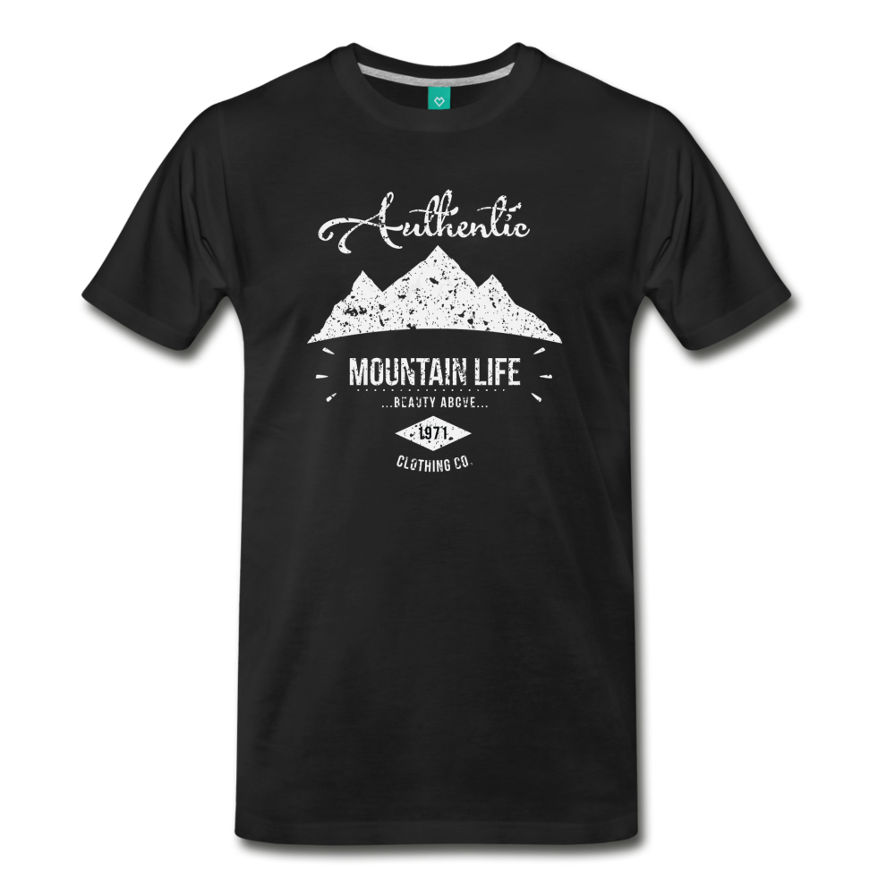 Men's Authentic Mountain Clothing Co. T-Shirt - black