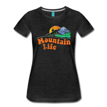 Load image into Gallery viewer, Women's 60s Mountain T-Shirt - charcoal gray