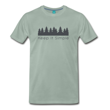 Load image into Gallery viewer, Men's Keep It Simple T-Shirt - steel green