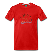 Load image into Gallery viewer, Men's Stay Wild T-Shirt - red