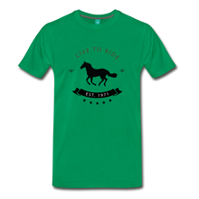 Load image into Gallery viewer, Men's Live to Ride T-Shirt - kelly green