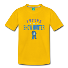Load image into Gallery viewer, Toddler Future Show Hunter T-Shirt - sun yellow