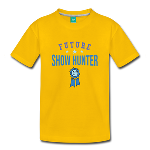 Toddler Future Show Hunter T-Shirt - sun yellow