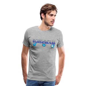 Men's Bluegrass Soul T-Shirt - heather gray