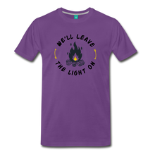 Load image into Gallery viewer, Men's We'll Leave the Light On T-Shirt - purple