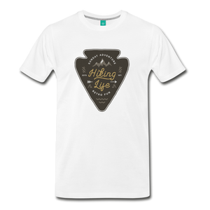 Men's Hiking Life T-Shirt - white