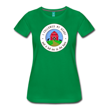 Load image into Gallery viewer, Women's Followed my Heart (colored) T-Shirt - kelly green