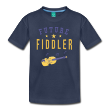 Load image into Gallery viewer, Kids' Future Fiddler T-Shirt - navy