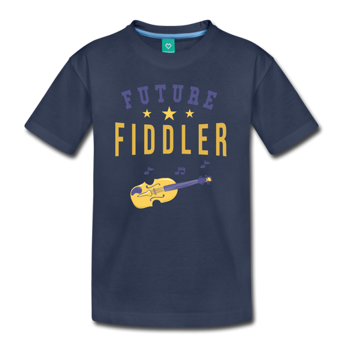 Kids' Future Fiddler T-Shirt - navy