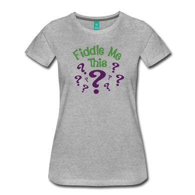 Women's Fiddle Me This T-Shirt - heather gray