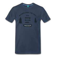 Load image into Gallery viewer, Men's Between Every Two Pines T-Shirt - navy