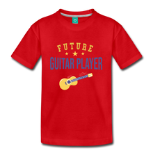 Load image into Gallery viewer, Kids' Guitar Player T-Shirt - red