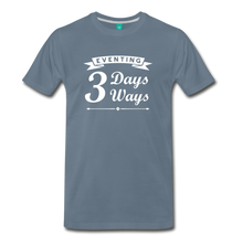 Load image into Gallery viewer, Men's 3 Days 3 Ways T-Shirt - steel blue