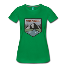 Load image into Gallery viewer, Women's Wander T-Shirt - kelly green