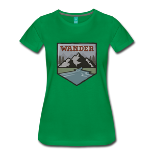 Women's Wander T-Shirt - kelly green