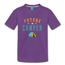 Load image into Gallery viewer, Toddler Future Camper T-Shirt - purple
