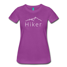 Load image into Gallery viewer, Women's Hiker T-Shirt - light purple