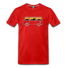 Load image into Gallery viewer, Men's Van Mountains T-Shirt - red