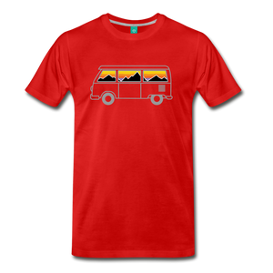 Men's Van Mountains T-Shirt - red