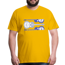 Load image into Gallery viewer, Men's Split Dobro T-Shirt - sun yellow