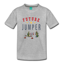 Load image into Gallery viewer, Toddler Future Jumper T-Shirt - heather gray