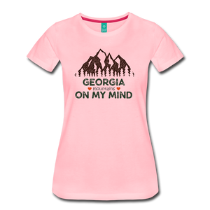 Women's Georgia on my Mind T-Shirt - pink